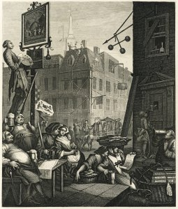 BeerStreet - William Hogarth